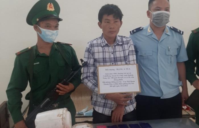 Hải quan Thanh Hóa phối hợp bắt giữ gần 1.700 viên hồng phiến