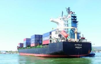 Đã có 9 chuyến tàu container quốc tế cập Cảng Tổng hợp quốc tế Nghi Sơn