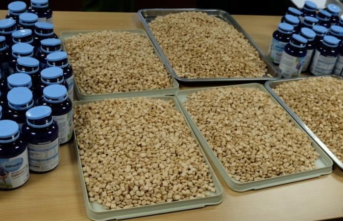 Cận cảnh hàng nghìn viên ma túy tổng hợp trong chuyên án EM620