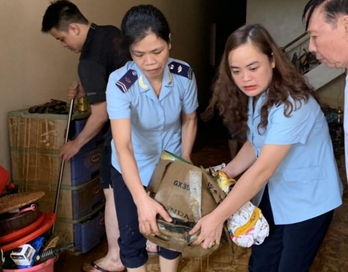Mưa lũ lớn gây thiệt hại nhiều tài sản của CBCC Cục Hải quan Hà Giang