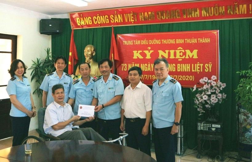 Cục Hải quan Hà Nội tổ chức nhiều hoạt động tri ân người có công