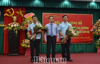 Điều động Cục trưởng hai đơn vị Hải quan Thừa Thiên Huế và Quảng Bình