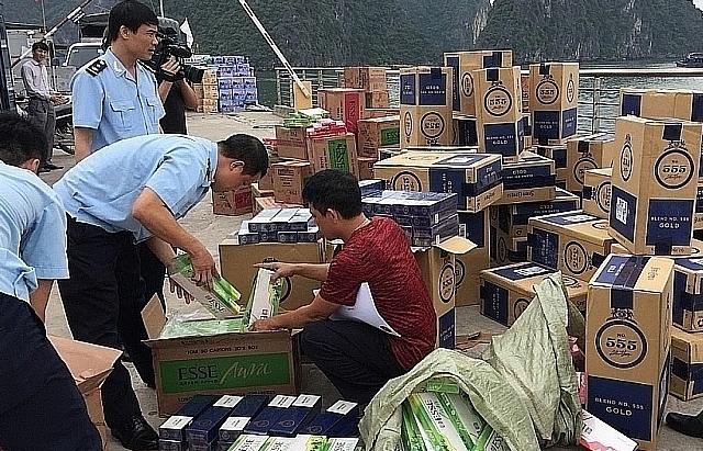 Tăng cường giám sát khi xử lý thuốc lá ngoại nhập lậu bị tịch thu