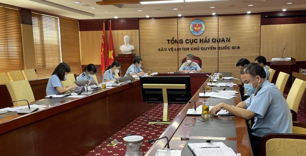 Phó Tổng cục trưởng Mai Xuân Thành chủ trì cuộc họp.