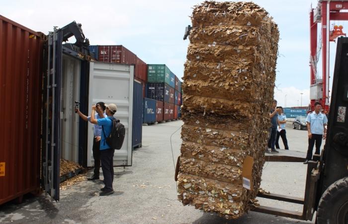 Đẩy nhanh tiến độ xử lý hàng tồn đọng là phế liệu tại cảng biển