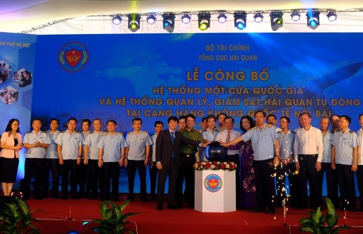 Chính thức triển khai Hệ thống quản lý giám sát hải quan tự động tại Nội Bài