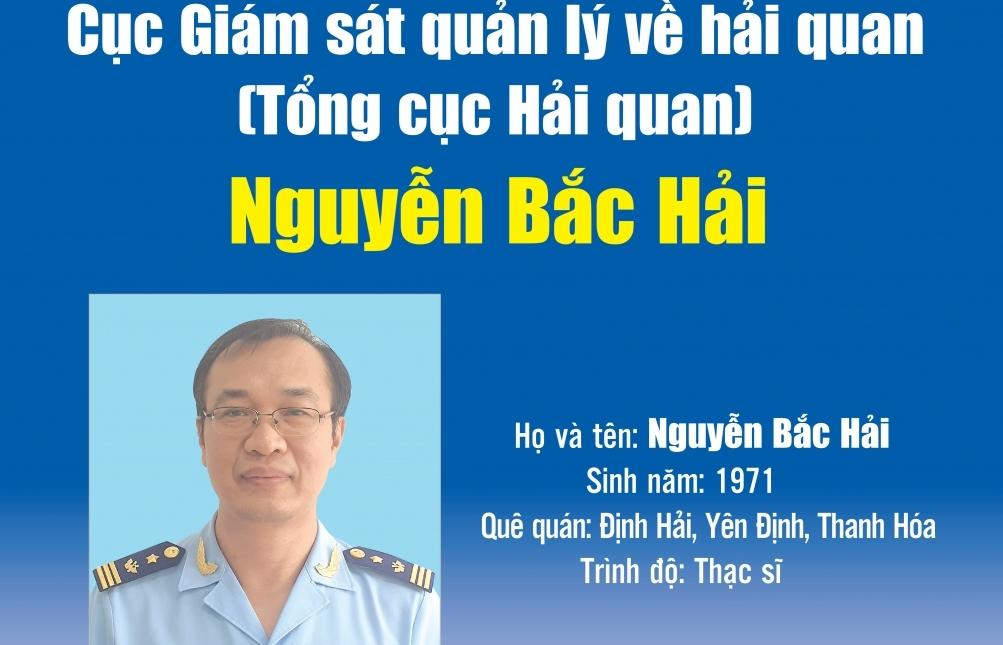 Infographics: Quá trình công tác của ông Nguyễn Bắc Hải, Phó Cục trưởng Cục GSQL về hải quan