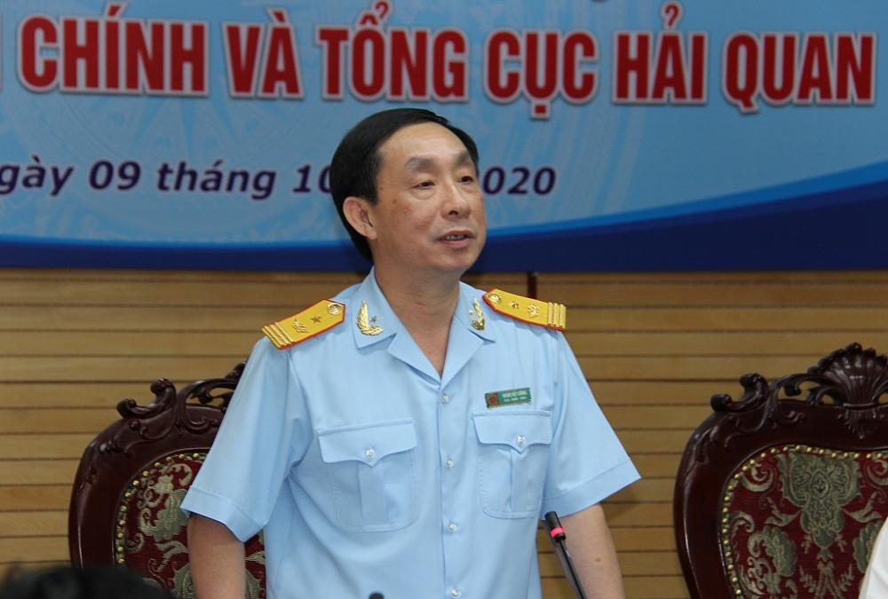 Phó Tổng cục trưởng Hoàng Việt Cường đánh giá cao kết quả hợp tác hai đơn vị.