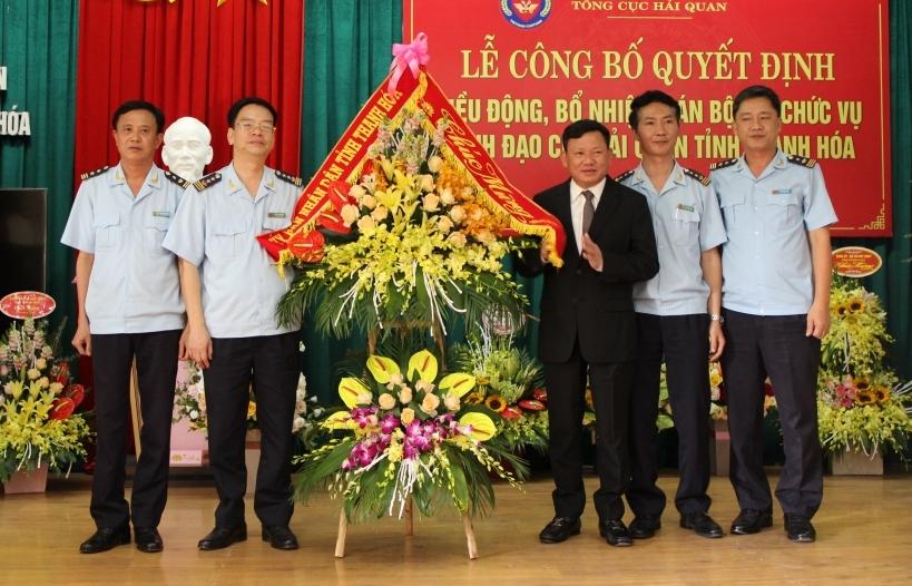 Cục Hải quan Thanh Hóa có 3 lãnh đạo mới