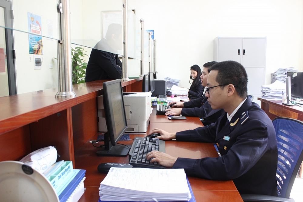 Thí điểm thi tuyển chức danh lãnh đạo, quản lý cấp Đội/tổ là cơ sở cho việc thi tuyển các chức danh lãnh đạo các cấp còn lại trong ngành Hải quan. Ảnh: N.Linh