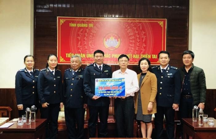 Hải quan Đà Nẵng có nhiều hoạt động ủng hộ bà con miền Trung