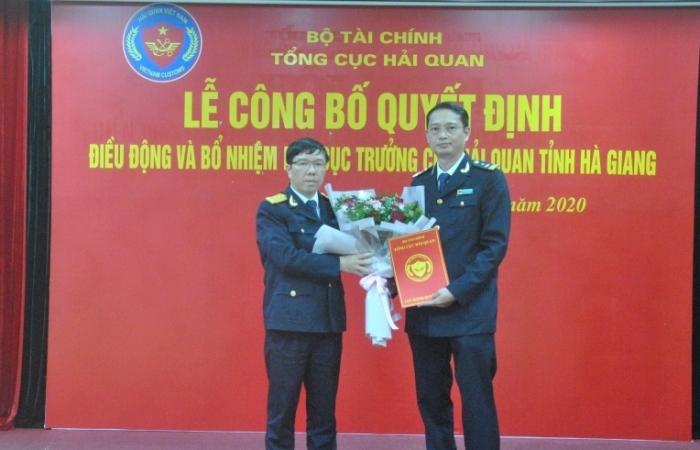 Bổ nhiệm tân Phó Cục trưởng Cục Hải quan Hà Giang