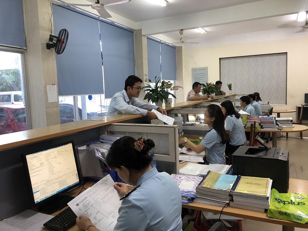 Hoạt động nghiệp vụ tại Chi cục Hải quan cửa khẩu cảng Đà Nẵng.