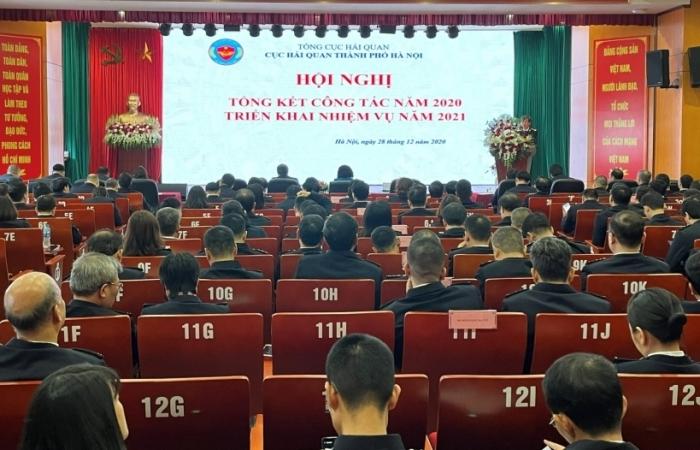 Hải quan Hà Nội: Phấn đấu vượt 5% chỉ tiêu thu NSNN năm 2021