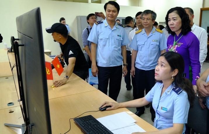 Hệ thống VASSCM tại Nội Bài: doanh nghiệp tiết kiệm khoảng 2,5 giờ/1 lô hàng