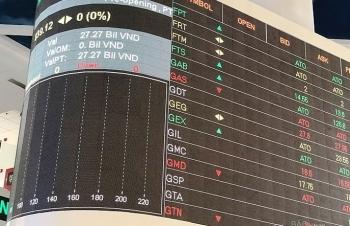 Thanh khoản trên thị trường chứng khoán khởi sắc