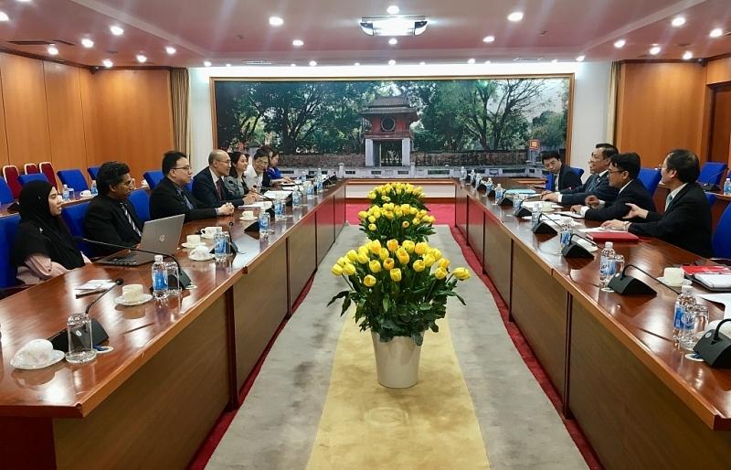 Bộ trưởng Bộ Tài chính tiếp Chủ tịch Liên đoàn kế toán Đông Nam Á