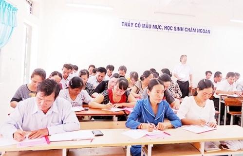 Kinh phí tập huấn, bồi dưỡng chương trình giáo dục phổ thông sẽ được lấy từ nhiều nguồn