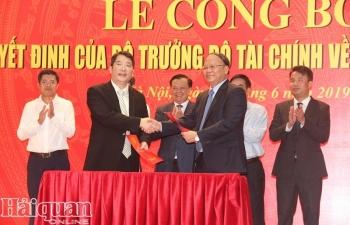 Ông Cao Anh Tuấn được bổ nhiệm chức vụ Tổng cục trưởng Tổng cục Thuế