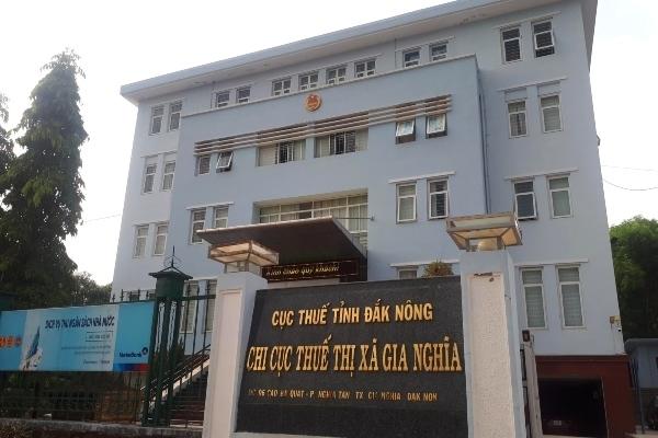 Một cán bộ thuế tại Cục Thuế Đắk Nông vừa vị tạm giam