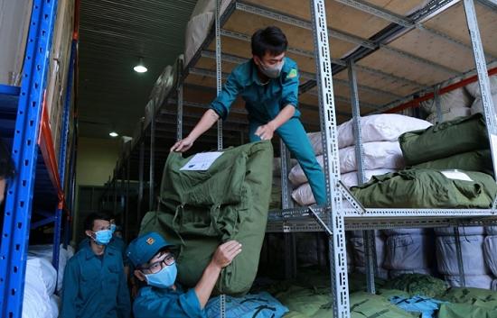 Dự trữ Nhà nước khu vực TPHCM xuất hàng dự trữ quốc gia phục vụ phòng chống Covid-19