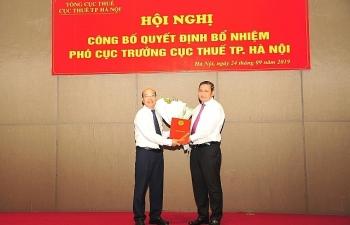 Cục Thuế Hà Nội có Phó Cục trưởng mới