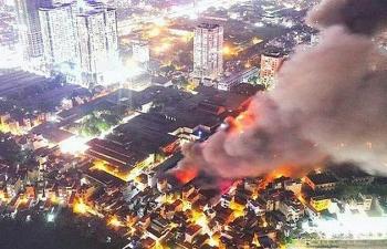 Cháy nhà máy tại Rạng Đông: Số tiền bồi thường ước khoảng 150 tỷ đồng