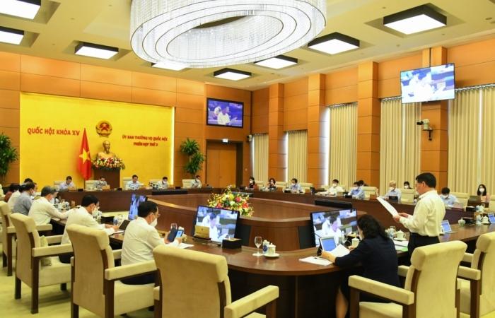 100% thành viên Ủy ban Thường vụ Quốc hội tán thành ban hành Nghị quyết miễn, giảm thuế