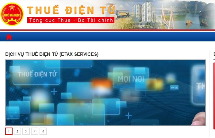Dịch vụ thuế điện tử sắp thay thế hoàn toàn hệ thống iHTKK và nộp thuế điện tử