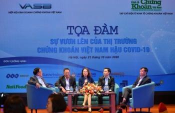 Thị trường chứng khoán Việt Nam phục hồi cả về chỉ số, quy mô và nội lực