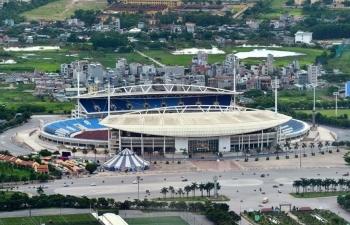 Khu Liên hợp thể thao quốc gia mới nộp hơn 35 tỷ đồng tiền thuê đất