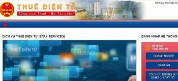 Lưu ý khi sử dụng Dịch vụ thuế điện tử eTax từ ngày 25/11