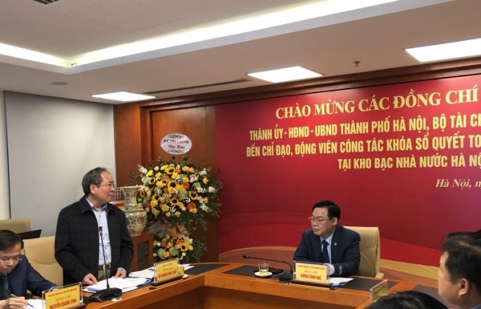 Kho bạc Nhà nước Hà Nội: Chủ động cao trong khóa sổ tài chính cuối năm