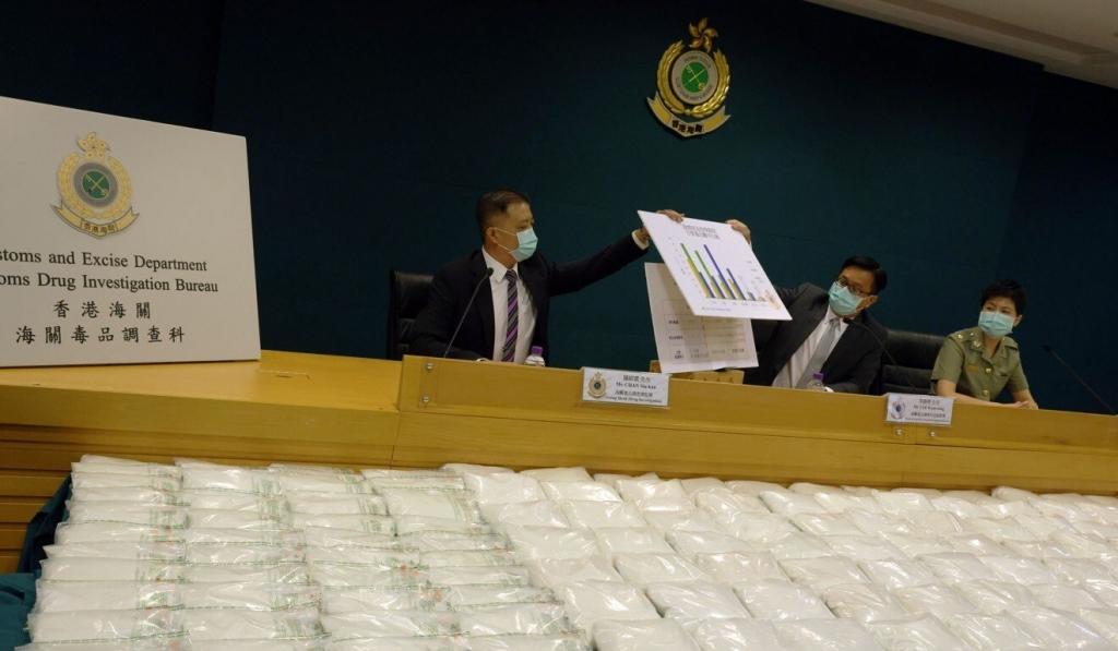 220 kg Ketamine ẩn lậu trong các cuộn sợi