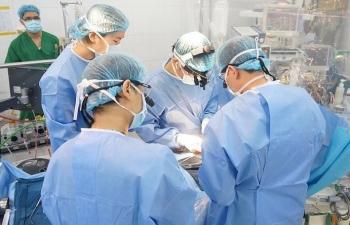 3 ca mổ tim đặc biệt ngày cận Tết tại Bệnh viện Nhi Trung ương