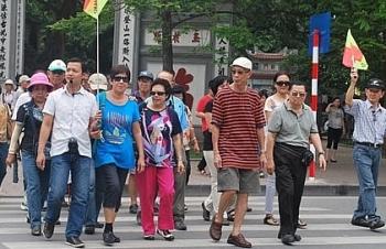 Khách du lịch đến Hà Nội dịp Tết đạt hơn 500.000 lượt