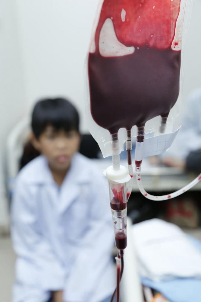 Thiếu 13.000 đơn vị máu cho dịp Tết