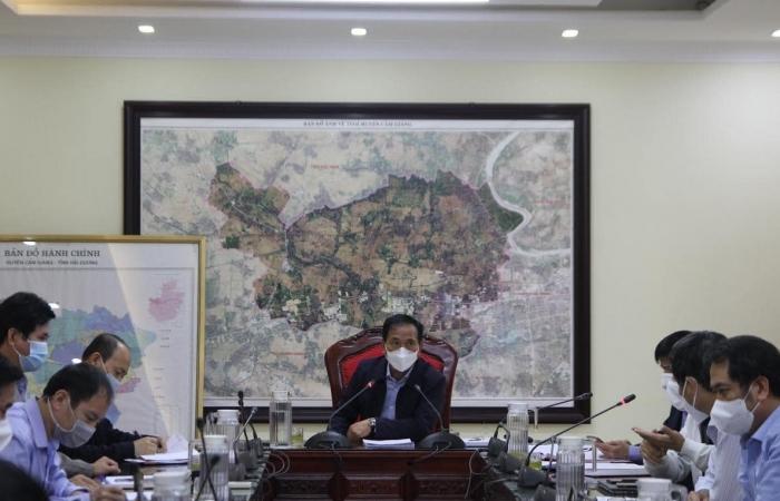 Doanh nghiệp ở Cẩm Giàng chỉ được hoạt động khi đảm bảo yêu cầu phòng chống dịch