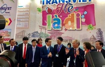 Phó thủ tướng Vũ Đức Đam dự khai mạc Hội chợ du lịch quốc tế 2019