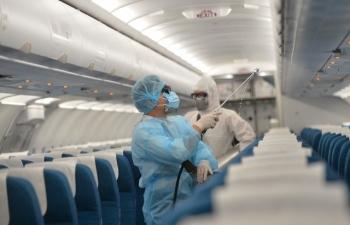Bệnh nhân thứ 57 mắc Covid-19 là người Anh trên chuyến bay VN0054