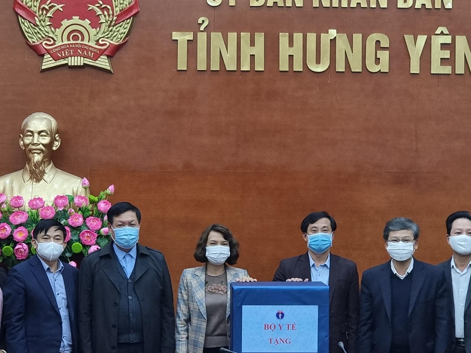 Công nhân của 180 doanh nghiệp Hưng Yên đã được xét nghiệm Covid-19