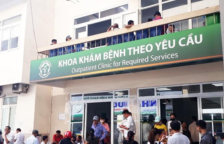 Giá giường bệnh dịch vụ tại Bệnh viện Bạch Mai cao nhất là 3,3 triệu đồng