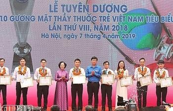 Tuyên dương 10 thầy thuốc trẻ tiêu biểu Việt Nam
