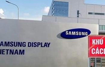 Bộ Y tế hỗ trợ Công ty Samsung Display Việt Nam chống dịch Covid-19