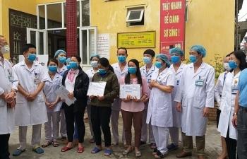 5 bệnh nhân mắc Covid-19 được công bố khỏi bệnh trong đó có 3 người của Công ty Trường Sinh