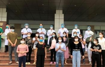 21 bệnh nhân Covid-19 được công bố khỏi bệnh