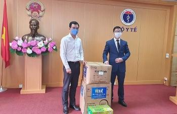 Một doanh nghiệp ủng hộ Bộ Y tế 100.000 khẩu trang phục vụ phòng, chống dịch Covid-19