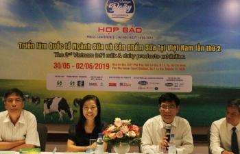 Hơn 200 doanh nghiệp tham dự Triển lãm quốc tế ngành sữa và sản phẩm sữa