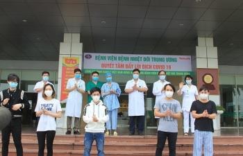 6 bệnh nhân Covid-19 được công bố khỏi bệnh