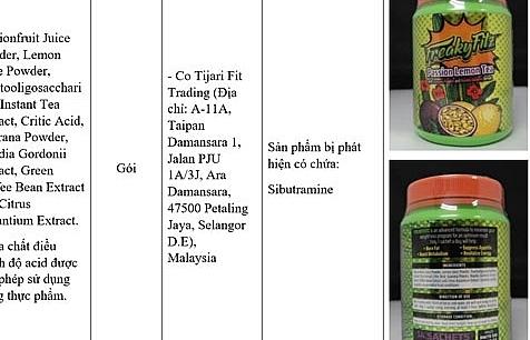 5 sản phẩm có chất cấm chưa được nhập khẩu về Việt Nam